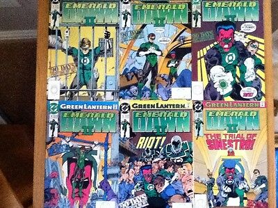 Green Lantern Emerald Dawn II issues 1,2,3,4,5,6 (complete set) from 1991