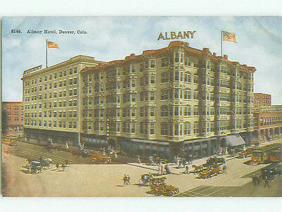 Divided Back ALBANY HOTEL Denver Colorado CO HQ5588