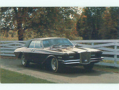 Unused 1984 postcard ANTIQUE 1966 DUESENBERG MODEL D SEDAN CAR k9086