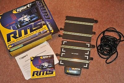 Scalextric RMS Race Management System C8143 BOXED C8222 Classic Sport converter