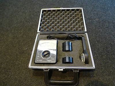 "SIMPSON 408-2 Illumination Level Meter ""Light Meter"" MINT in case FREE SHIP USA"