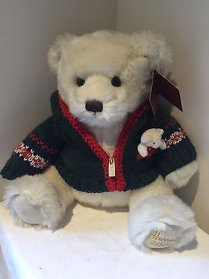 Collectable 2006 HARRODS of LONDON teddy bear - bought for collection - with tag
