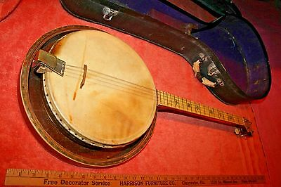 1930's Concertone Mandolin Ukulele Banjo? With Case