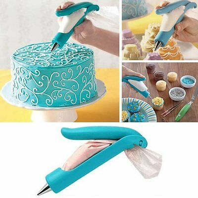 Pastry Icing Piping Decorating Pen - 11pc set