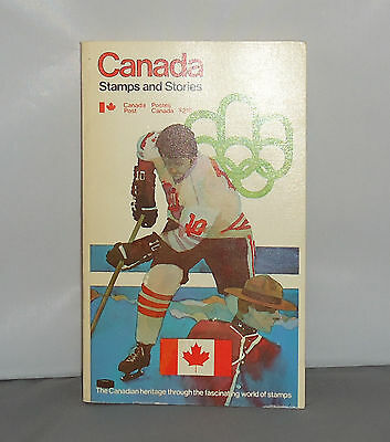 Canada Stamps and Stories Book French/English Canada Post