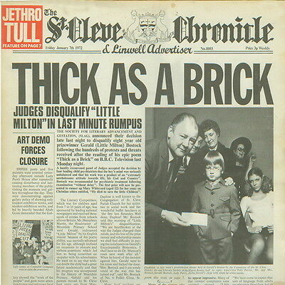 "12"" Jethro Tull Thick Is A Brick 1972 Chrysalis Records 6307 502 (D)"