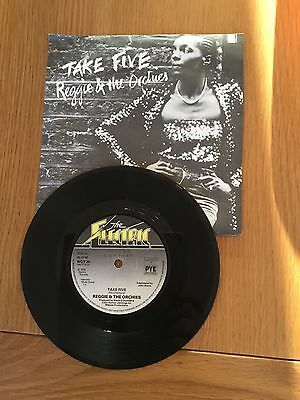 """Reggie & The Orchies 7"""" Vinyl Single Take Five Picture Sleeve"""