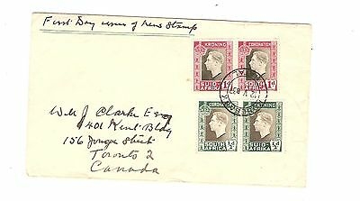 First Day Issue New Stamp South Africa Suid Afrika Kroning Coronation 1937
