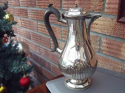 Antique Silver Plated Hot Water Pot or Jug by Mappin Brothers 1865-1903