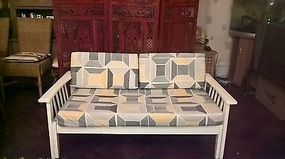 Vintage Rare Retro 1950s Sofa / Extendable Day Bed