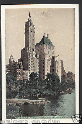 America Postcard - Fifth Avenue at 59th Street From Central Park, New York RS988