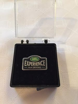 Land Rover Experience 4x4 Driving. Pin Badge. Still in case