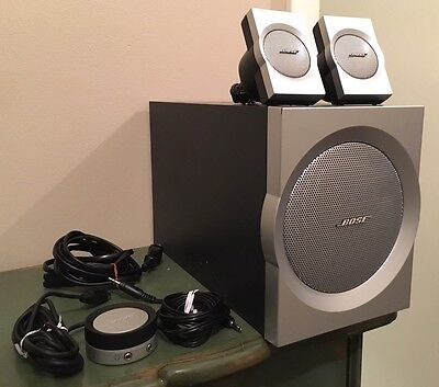 Bose Companion 3 Series I Multimedia Computer Speakers System