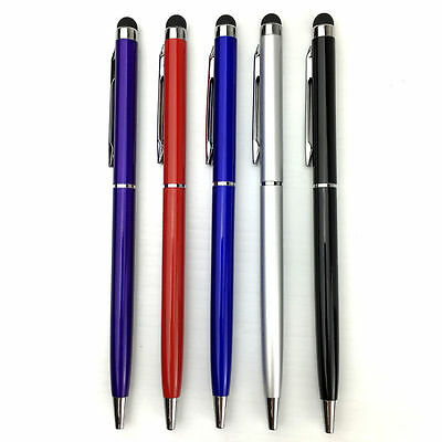 2 in 1 Stylus and Ink Ball Point Pen Touch 1, 5, 10 Pack for iPhone iPad Tablet