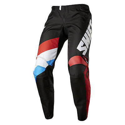 2017 Shift MX Youth WHIT3 Tarmac Pants - Black Boys Motocross Offroad Dirt Trail