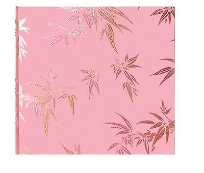 Boots The Photo Album Company Oriental Pink Leaf Photo Album 80 Photos- 20 Sheet