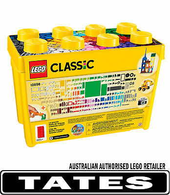 LEGO 10698 BRICK BOX CLASSIC LARGE  (790 pcs) from Tates Toyworld
