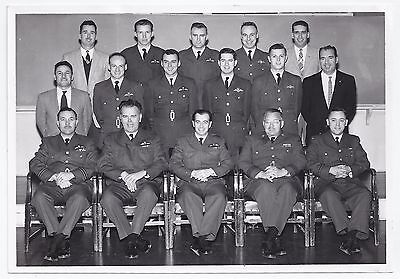 post WW2 WWII RCAF Royal Canadian Air Force group photo