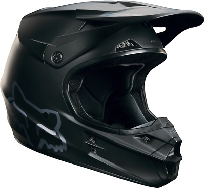 Fox 2018 Fox Mens MX V1 Matte Black Helmet ECE