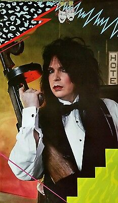 "Motley Crue ""Nick Mars"" poster, 1985 (almost gone!)"