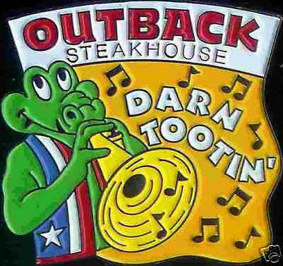J1344 Outback Steakhouse Darn Tootin 9 notes