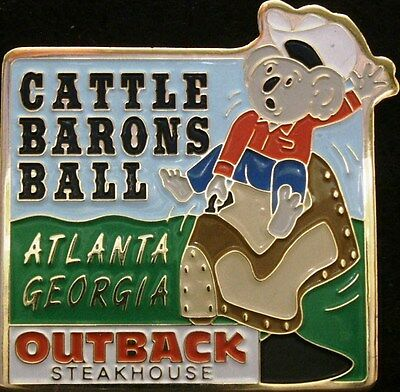 J1208 Outback Steakhouse Cattle Barons Ball Atlanta Ga