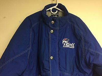 Vintage New England Patriots Jacket Mirage Men s XL NFL 1990 s Throwback a76ce2aa2
