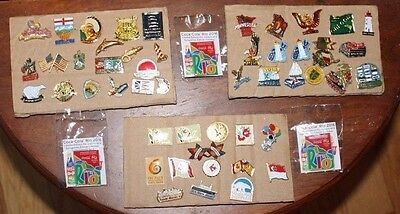 Lot Vintage Souvenir Cruise Tourist Enamel Pins North America USA Canada Mixed