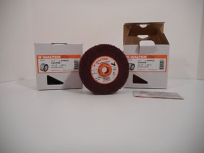 2 Walter Blendex Drums Coarse 4 1/2 X 2 X 5/8-11 For Line Mate Sander