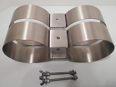 New Stainless Steel Tank Bands For 5.50 Inch Diameter Cylinders