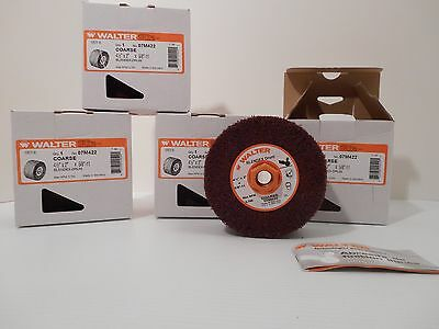 4 Walter Blendex Drums Coarse 4 1/2 X 2 X 5/8-11 For Line Mate Sander