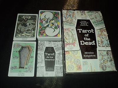 Tarot Of The Dead Deck - Cards & Booklet Set - Unused - Boxed & Complete Gothic