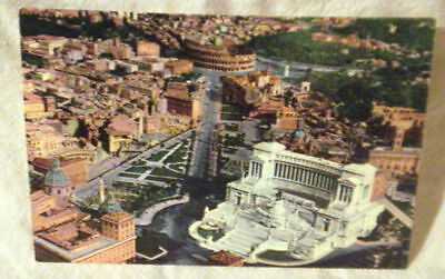 Post Card Rome Italy Altar of the Nation