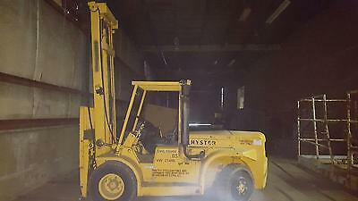 Hyster forklift 15,000 lb capacity Diesel Low hours Pneumatic tires