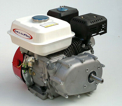 6.5hp Petrol Engine with 2:1 Gear Reduction & Wet Clutch suits Go Karts, Pumps