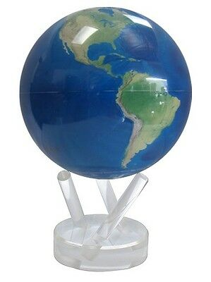 "MOVA Earth Globe - Satellite image no clouds -11.5 cm 4.5"" self rotating sphere"