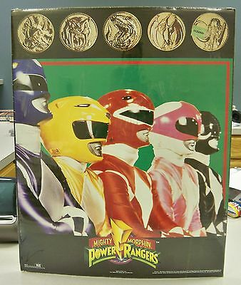 New - Scarce - Original 1994 Mighty Morphin Power Rangers First Cast Poster