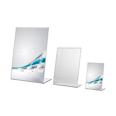 Acrylic Poster Menu Holder Leaflet Perspex Display Stands A3 A4 A5 A6 A7 A8 A9
