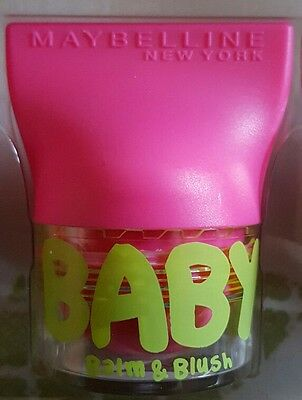 Maybelline Baby Lips Balm and Blush Flirty Pink