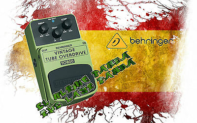 Behringer TO800 Vintage Tube Overdrive Pedal Guitarra, Electrica, Guitars. Nuevo