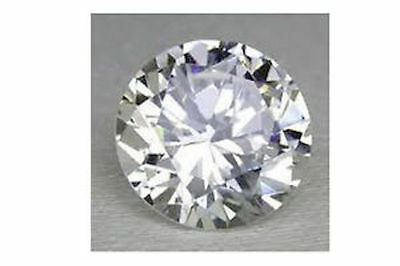 AAA Rated Handcut Lab Created White Sapphire Round Faceted Gemstone 5mm to 21mm