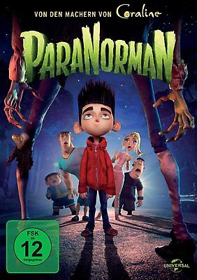 ParaNorman - Animationsfilm Kinder  DVD/NEU/OVP