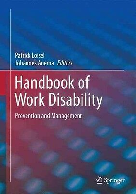 Handbook of Work Disability by Paperback Book (English)