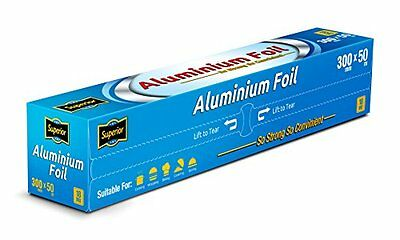 Aluminium Kitchen Catering Foil Tin Food GRADE Baking Oven Wrap 30cm x 50M 18Mic