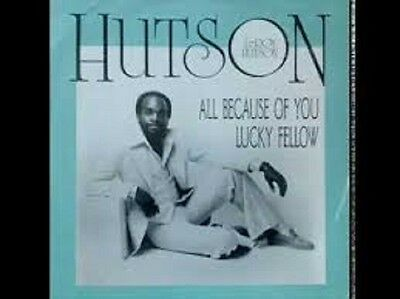 "Leroy Hutson All because of you/Lucky Fellow UK Curtom (12"" Vinyl Soul)"