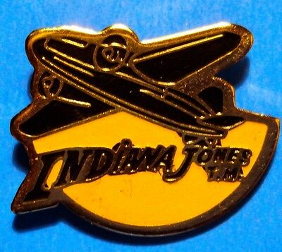 Indiana Jones Movie - Airplane - Vintage Lapel Pin - Hat Pin - Pinback