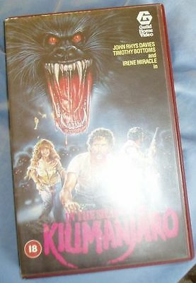 In the shadow of Kilimanjaro VHS