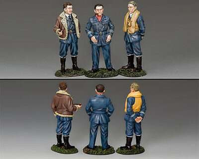 KING AND COUNTRY RAF A Trio Of Aces WW2 RAF075 RAF75