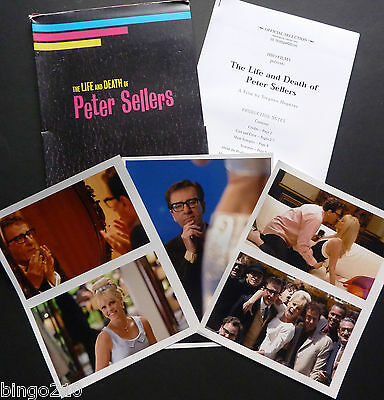 The Life And Death Of Peter Sellers  2004 Press Kit With Photos Charlize Theron