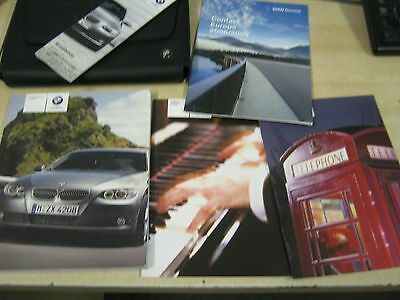 Bmw 3 Series Coupe And  Convertible  Owners Manual  Handbook 2006-2011 & Radio